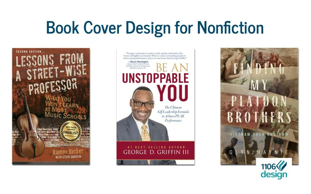 Nonfiction Book Cover Design: How It Differs from Fiction
