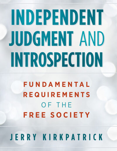 Independent Judgment and Introspection
