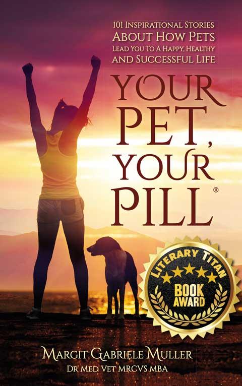 Your Pet Your Pill Literary Titan Award